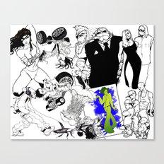 Sketchbook I Canvas Print