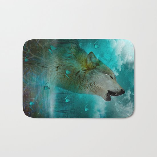I'll See You In My Dreams (Cry of the Wolf) Bath Mat