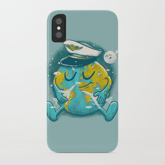 The Greatest Round Trip iPhone Case