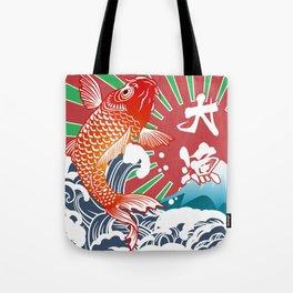 fishing flag Tote Bag