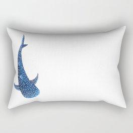 Whale Shark Rectangular Pillow