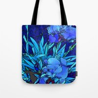 iris Tote Bags featuring Iris by lillianhibiscus