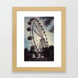Barcelona Eye Framed Art Print