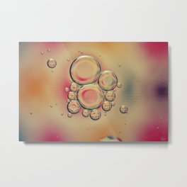 Kaleidoscope: Oil & Water Metal Print