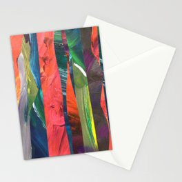 Abstract Collage Stationery Cards