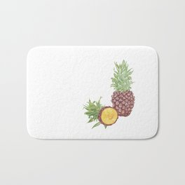 Pineapple and a half Bath Mat