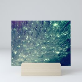 Ice Bubble Explosion Mini Art Print