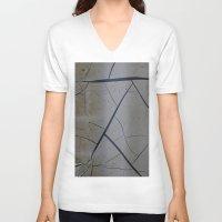 broken V-neck T-shirts featuring Broken by Fine2art