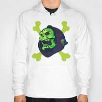 skeletor Hoodies featuring Skeletor by Beery Method