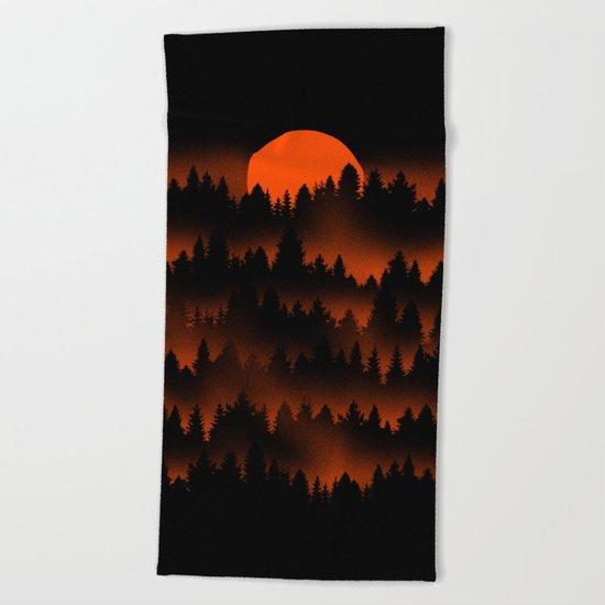 Incendio Beach Towel