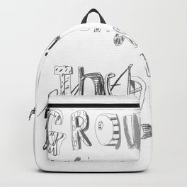 Grow old along with me Backpack