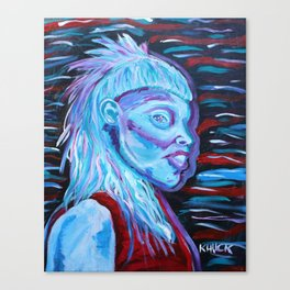 Yolandi Visser Portrait Fan Art Canvas Print