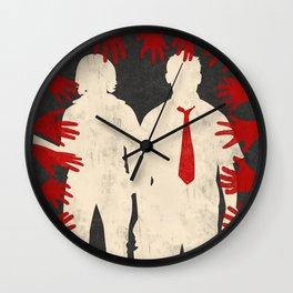 Shaun Of The Dead Wall Clock