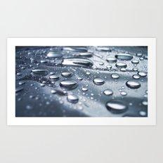 :: drops :: Art Print
