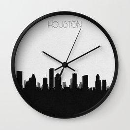 City Skylines: Houston Wall Clock