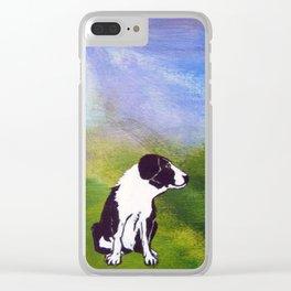 Rex Takes a Break Clear iPhone Case