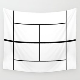 Tennis Court Wall Tapestry