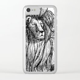 King Clear iPhone Case