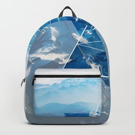Mountain Vibes Geometry Backpack