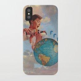 The World Needs Something iPhone Case