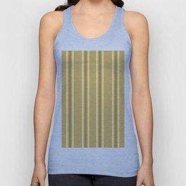 Beige Ocher  Vertical  Stripes  Background Unisex Tank Top