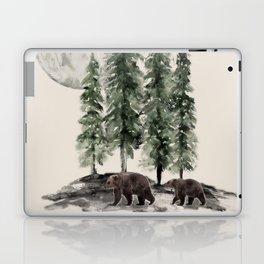 Full Moon Rising Laptop & iPad Skin