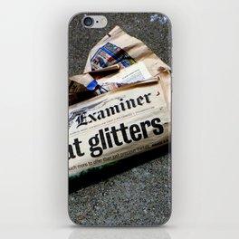 All That Glittered iPhone Skin