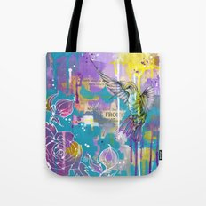 A Hummingbirds Folly Tote Bag
