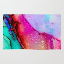 Coloring Abstract Mashup Rug