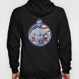 Abe Lincoln World War Champs product - July 4th Day prints Hoody