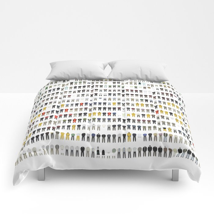 Walter White's Wardrobe - Complete Series Comforters