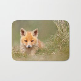 The Cute Kit (Red Fox cub) Bath Mat