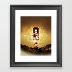 Out Of My Way Framed Art Print