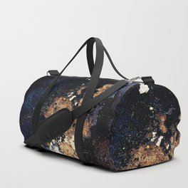 Alien Continents ruined wall texture grunge Duffle Bag