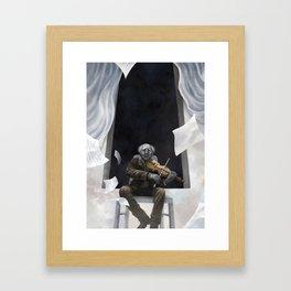 Die Musik des Erich Zann Framed Art Print
