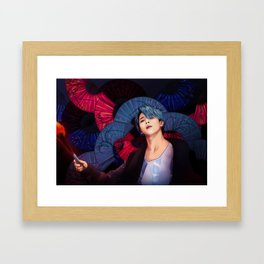 BTS JIMIN AWESOME Framed Art Print
