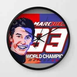 Marquez Motogp 2016 World Champions Wall Clock