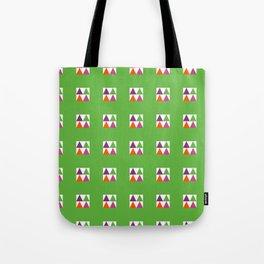 MAD NIHO TANIWHA MULTI Green Tote Bag