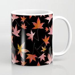 Dead Leaves over Black Coffee Mug
