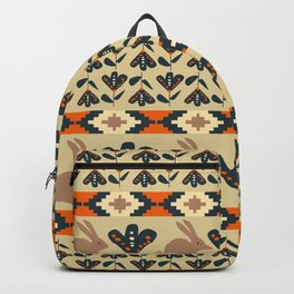 Flowers and chocolate bunnies Backpack