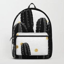 Golden Cactus Backpack