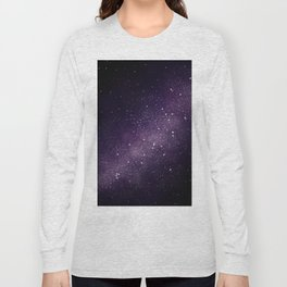 Puple Galaxy Long Sleeve T-shirt
