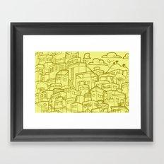 #MoleskineDaily_35 Framed Art Print