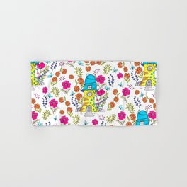 Whimsical House Garden Hand & Bath Towel