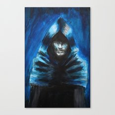 The Hooded One Canvas Print