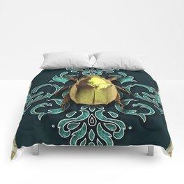 GOLDEN BEETLE Comforters