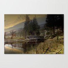 West End Bridge Canvas Print