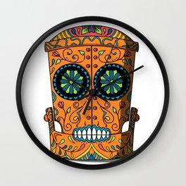 Craneo Mecanica Wall Clock