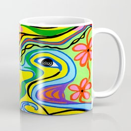 Abstract Tucanoblues Coffee Mug