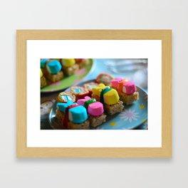 Nigiri Peeps Framed Art Print